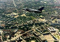 Eurofighter/Typhoon over Berlin, Germany - © EADS Official Picture, 1998